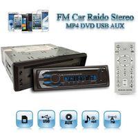 arabic backgrounds - 4 Inch Detachable Face FM Car Radio Stereo MP4 DVD USB AUX Background Lights Clock Remote Control CAU_00O