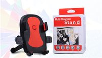 Wholesale Universal Degree Car Air Vent Mount Cradle Holder Stand For Mobile Cell Phone GPS Dave With retail box