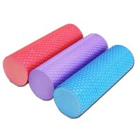best pilates - Best Selling Yoga Pilates with Trigger Points Trainning Fitness Eco friendly EVA Foam Roller for Muscle Relaxation x10CM