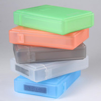 Wholesale New Inch Hard Disk Protect Case Hard Driver Anti shake Storage Box Cover Multi Color JF