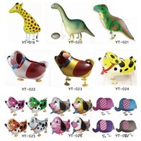 Wholesale Walking Pet balloon children s toy Walking animal balloons walking animal balloon children toys Xmas Gift Party Decoration