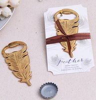 Wedding silver  Free by DHL (50 pcs lot)Golden Peacock Feather Bottle Opener Beer Bar Tools Party Accessories Wedding&Bridal Shower Favor Gifts For Guest