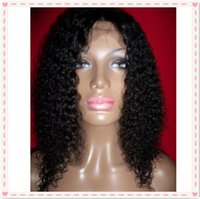 baby curl hair - 20 quot density full lace wigs glueless lace frontal wigs jerry curl for African Americans with baby hair