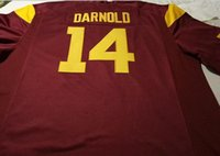 Wholesale Men Replica Sam Darnold USC Trojans Alumni Football Jersey