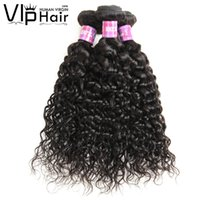 Ondes de l'eau de la Malaisie de la Virgin Virgin Weet Wet and Wavy 8-28 pouces 3 Bundles Cheveux Humains Malaisiens Remy Water Wave Hair Extensions
