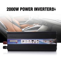 Wholesale Car Inverters W DC V to AC V Car Vehicle USB Power Inverter Adapter Converter Power Supply Switch On board Charger
