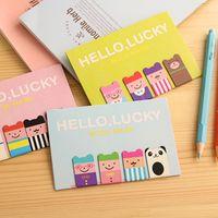 Wholesale set Cartoon Kawaii Stationery Bronze Magnetic Bookmark Book Mark Clips For Office Teacher Gift Kids School Office Supplies
