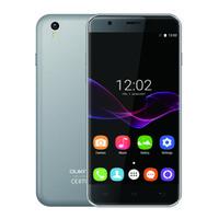 OUKITEL U7 MAX 3G Téléphone mobile Android 6.0 MTK6580 Quad Core Téléphone portable 1 Go RAM 8 Go ROM 5.5 pouces Ecran 2500mAh Batterie Téléphone intelligent