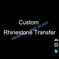 Wholesale On Sale High Quality Bulldogs Paw Rhinestone Design For Garments Hot Fix Motif Rhinestone Heat Transfer