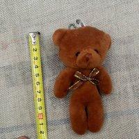 Wholesale The new creative teddy bear plush toys Cute teddy bear doll accessories cm birthday gift
