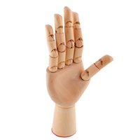 acura models - 2017 new cm Wooden Artist Articulated Right Hand Model Gift Art Alternatives SKETCH Hand Flexible Decoration for Kids car love gifts