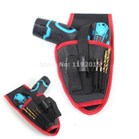 Wholesale High Quality Portable Charging Cordless Holder Drill Bag Pocket Electrician Tool Kit Pouch Screwdriver v Drill Waist Tool Bag