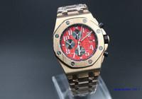 Mens répliques d'or de la marque nouvelle rose DATE mode de luxe hommes en gros pour les montres sport montre automatique des hommes en acier inoxydable