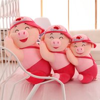 Wholesale EMS Mcdull Pig Plush dolls cm inch plush toys cartoon poke Stuffed animals toy soft Christmas toys best Gifts