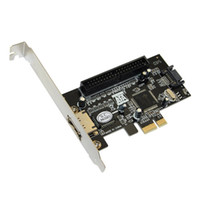 Wholesale Combo SATAII IDE PCI Express RAID Controller Card Port IDE and port sata Card for PC desktop laptop