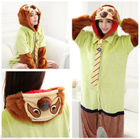 Wholesale New Zootopia Sloth Flash Onesie Adult Kigurumi Pajama Sleepwear Cosplay Costume