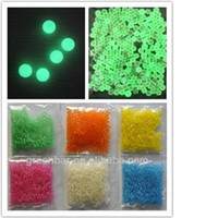 Wholesale 5 PACKS Glow In The Dark Crystal Soil Water Beads Jelly Balls Colors For U pick
