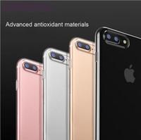 achat en gros de nouveau samsung galaxy téléphone s6-Nouveau Slim Soft Silicone TPU Transparent Housse Transparent Housse Pour iPhone 7 Galaxy S6 Edge Plus Note 5 S7 Bord 0.3mm