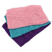 Wholesale 20 CM Color de pulgadas g Elástica envuelta en el pecho Del Bebé chica Tejer Crochet Tube Tops Pecho Abrigo Amplia DIY tutu falda