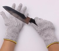 Wholesale Safety Protective Kitchen Cut Slash Resistant Food Contact Safe Anti Cutting Breathable Outdoor Work Glove pair