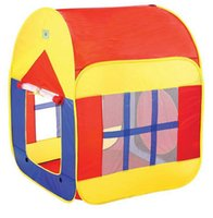 Wholesale Colorful Casa Tent Children Beach Play House Indoor Outdoor Toys Multi Function Baby Tents Foldable Kids House With Window