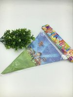 Wholesale New Cartoon dog Theme Flags Children Birthday Party Items For Kids favors Event Party Supplies Decoration banners