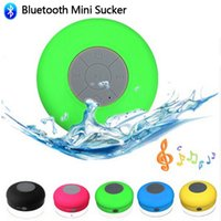 3.0 Universal MP3 Speaker Original Mini Portable IPX4 Shower Waterproof Wireless Bluetooth Speaker Subwoofer Car Handsfreee Receive Call Sucker with Mic retail box