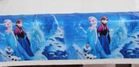 Wholesale Frozen princess Theme Boy Girl Birthday Party Decoration Birthday Party Decorations Kids Plastic Table Cloth Size cm X cm