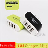 Wholesale Metal Dual USB wall US plug A AC Power Adapter Wall Charger Plug port for samsung galaxy note LG phone tablet ipad