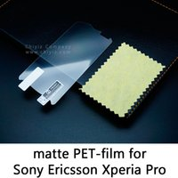 achat en gros de xperia mk16i-Glacé givré mat anti-éblouissement de verre trempé film de protection écran protecteur pour Sony Ericsson Xperia Pro MK16 MK16i MK16a