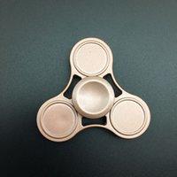 Precio de Bolas de rodamiento-Nuevo Fidget Spinner HandSpinner dedo giratorio dedo Gyro EDC juguete para descompresión ansiedad metal rodamiento de bolas de cerámica Torqbar de latón Juguetes Gratis