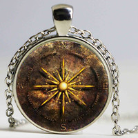 ancient south american art - 2016 fashion Art photo green leaves Ancient Tree of Life Bronze crack necklace glass cabochon pendant necklace women jewelry