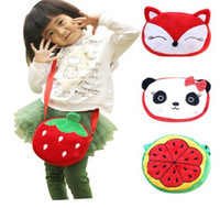 Cross Body baby body fit - Kawaii Baby KID Fits Years Satchel BAG Plush Children Kid s Satchel Cross Messenger BAG Pack Shoulder BAG Pouch