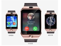 Wholesale Low Price Android Mobile Phone - lowest price DZ09 smartwatch android samsung smart watchs apple SIM Intelligent mobile phone watch can record the sleep state Smart