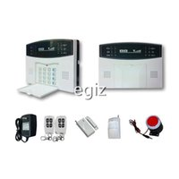 Wholesale LCD Wireless GSM SMS Burglar Alarm System Auto Dial Home Security Alarm System Voice Prompt Wholesaling