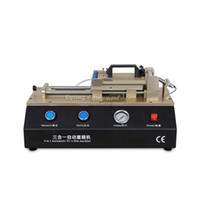 auto compressor repair - LY Build in pump Non air compressor Semi Auto Vacuum OCA film laminator V V mobile phone repair