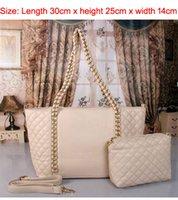 Las bolsos de hombro clásicos del bolso de hombro de las mujeres del bolso de las mujeres del bolso del mensajero de las mujeres del fashio de la marca de fábrica famosas Handbag + walopard 2PCS