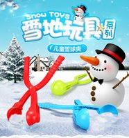 Wholesale how to make snowballs snowball maker uk snowball maker for Winter Battle Kids and Adult Toy