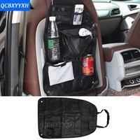 Wholesale Auto Car Back Seat Boot Organizer Trash Net Holder Multi Pocket Travel Storage Bag Hanger For Auto Capacity Storage Pouch