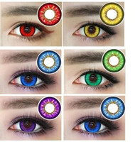Wholesale Hot Selling Christmas Contact Lenses Big Eye Color Contacts Colored Contacts Ready Stock