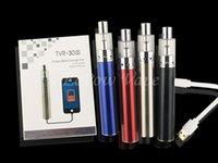 bank electronic - TVR S Vape Box TVR Electronic Cigarettes New Vapes Kit Huge Vapor Vaporizer Pen With Power Bank Fuction Original Factory Direct