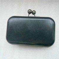 ball clasp purse - 16 x cm Gun metal Purse Frame with ball clasp plastic box sets