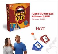 Wholesale Speak Out Game new party game KTV party newest best selling toy with