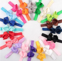baby names color - Hair Accessories Name Children s bow with a baby ribbon hair elastic head with a girl hair ornaments color optional YH445