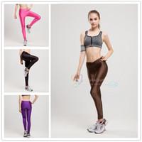 Wholesale Hot Sales Fashion leggings for women Solid Color tights leggings women sexy leggings Sports leggings Ladies Yoga leggings colors LA225