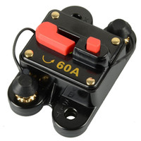 Wholesale 12V V DC Circuit Breaker Trolling Motor Auto Car Marine Boat Bike Stereo Audio Inline Fuse Inverter Waterproof with Manual Reset A Am