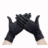 Wholesale Body Art Black Disposable Tattoo Latex Gloves Tattoo accesories