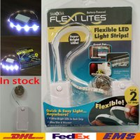 Wholesale In Stock Flexi Lites Touch Light Band Super Bright LED Light Strips LED Wardrobe Light DIY Decoration Cabinet Closet Wall No battery WX L04