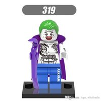 al por mayor comodín estrella-Venta al por mayor 10pcs Star Wars Super héroes Marvel Avengers Joker Suicide Squad acción mini Figuras Building Blocks Ladrillos Juguetes