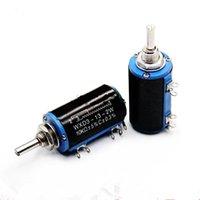 Wholesale WXD3 W K New original precision potentiometer slide rheostat wire wound potentiometer much more circle